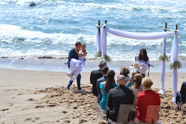 arriba by the sea real wedding in Portugal