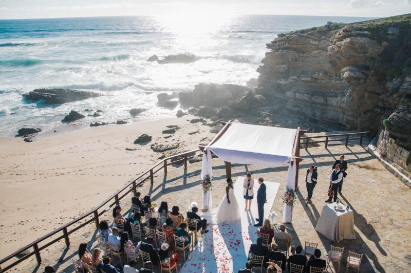 Arriba By The Sea Portugal - Ocean front Wedding Ceremony