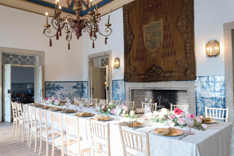 Wedding Villa in Portugal - Historical and Authentic with Portuguese tilles