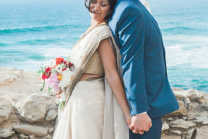 destination wedding in portugal by the sea